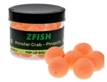 Zfish Plovoucí Boilies Pop Up 16mm - Monster Crab & Pineapple