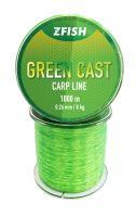 ZFISH Vlasec Green Cast Carp Line 1000m - 0,26mm