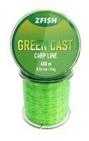 ZFISH Vlasec Green Cast Carp Line 600m - 0,26mm