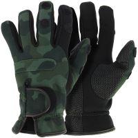 NGT Neoprén Rukavice Camo Gloves XL